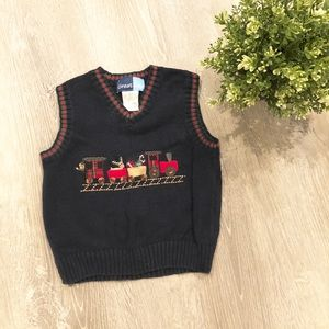 Other - CHRISTMAS SWEATER VEST BABY BOY